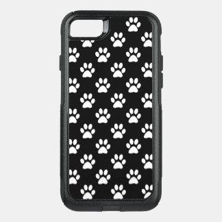 Capa iPhone 8/7 Commuter OtterBox Impressões da pata no branco