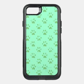 Capa iPhone 8/7 Commuter OtterBox Impressões enlameados da pata no verde