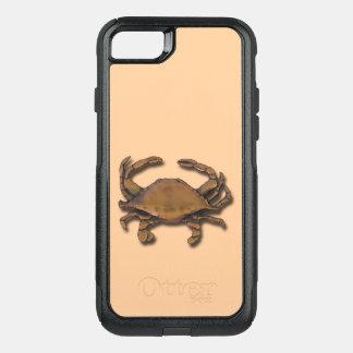 Capa iPhone 8/7 Commuter OtterBox iPhone 8/7 de caranguejo de cobre náutico de