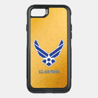 Capa iPhone 8/7 Commuter OtterBox iPhone do U.S.A.F. & exemplo de Samsung Otterbox