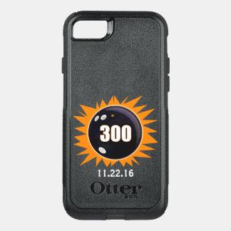 Capa iPhone 8/7 Commuter OtterBox Jogo 300 perfeito alaranjado e preto