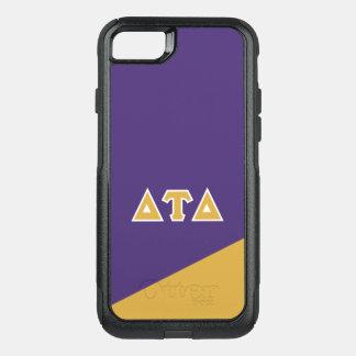 Capa iPhone 8/7 Commuter OtterBox Letras do grego do delta | da tau do delta