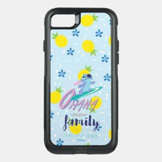 Capa iPhone 8/7 Commuter OtterBox Lilo & família dos meios de Stich | Ohana