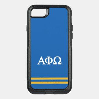 Capa iPhone 8/7 Commuter OtterBox Listra alfa do esporte de Omega | da phi