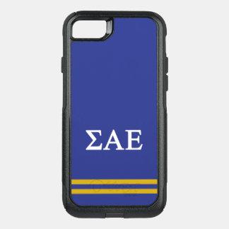 Capa iPhone 8/7 Commuter OtterBox Listra alfa do esporte do épsilon | do Sigma