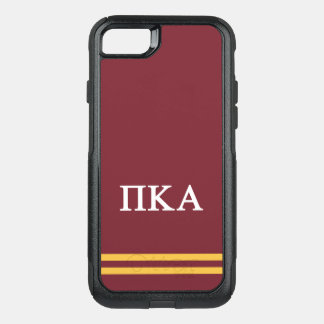 Capa iPhone 8/7 Commuter OtterBox Listra do esporte do alfa   do Kappa do Pi