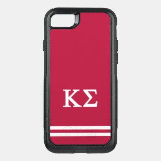 Capa iPhone 8/7 Commuter OtterBox Listra do esporte do Sigma | do Kappa