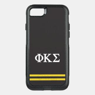 Capa iPhone 8/7 Commuter OtterBox Listra do esporte do Sigma | do Kappa da phi