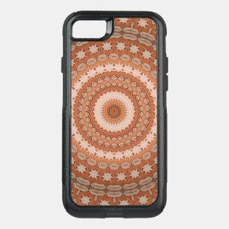 Capa iPhone 8/7 Commuter OtterBox Mandala da estrela do caleidoscópio em Hungria: