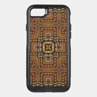 Capa iPhone 8/7 Commuter OtterBox Mandala do caleidoscópio em Hungria: Teste padrão