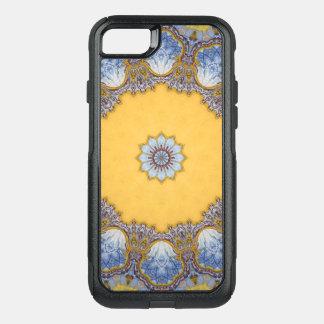 Capa iPhone 8/7 Commuter OtterBox Mandala do caleidoscópio em Portugal: Teste padrão