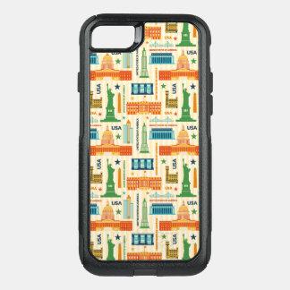 Capa iPhone 8/7 Commuter OtterBox Marcos dos Estados Unidos da América