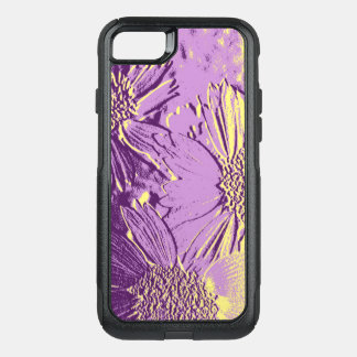 Capa iPhone 8/7 Commuter OtterBox O abstrato floresce 3 florais bonitos
