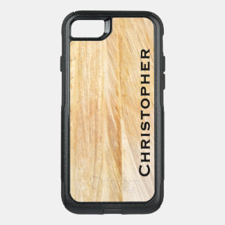 Capa iPhone 8/7 Commuter OtterBox O falso de Tan apedreja o iPhone 8 do iPhone 7 da