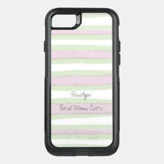 Capa iPhone 8/7 Commuter OtterBox O melhor verde da mamã nunca e teste padrão
