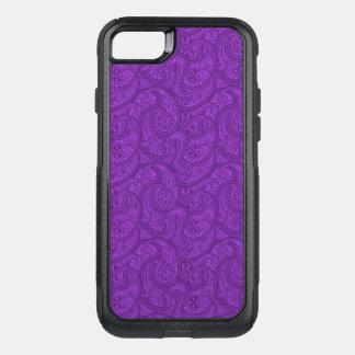 Capa iPhone 8/7 Commuter OtterBox Paisley roxo