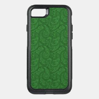 Capa iPhone 8/7 Commuter OtterBox Paisley verde