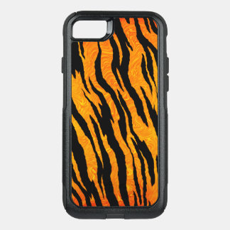 Capa iPhone 8/7 Commuter OtterBox Pele clássica do tigre