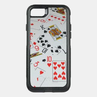 Capa iPhone 8/7 Commuter OtterBox Plataforma de cartões dispersada,
