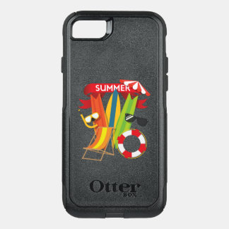 Capa iPhone 8/7 Commuter OtterBox Praia Watersports do verão