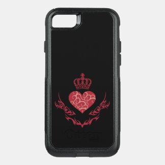 Capa iPhone 8/7 Commuter OtterBox Rei do coração