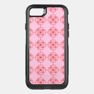Capa iPhone 8/7 Commuter OtterBox ROSA adorável chique das capas de iphone PEQUENO