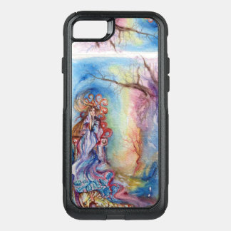 Capa iPhone 8/7 Commuter OtterBox SENHORA LAGO/fantasia azul cor-de-rosa da mágica e