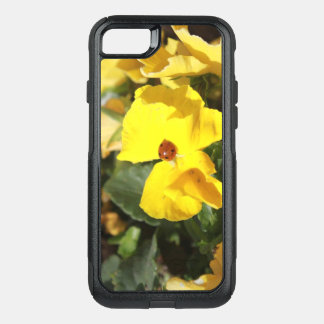 Capa iPhone 8/7 Commuter OtterBox Senhora na caixa amarela do telemóvel