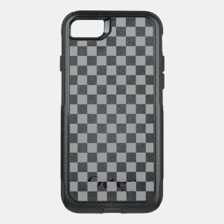 Capa iPhone 8/7 Commuter OtterBox Tabuleiro de damas cinzento