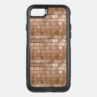 Capa iPhone 8/7 Commuter OtterBox Telha de madeira