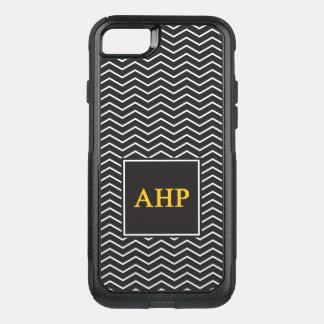 Capa iPhone 8/7 Commuter OtterBox Teste padrão alfa do ró   Chevron de Eta