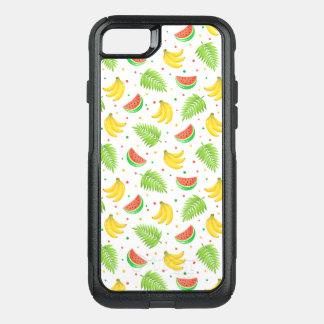 Capa iPhone 8/7 Commuter OtterBox Teste padrão de bolinhas da fruta tropical