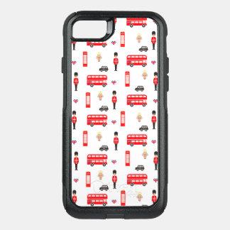 Capa iPhone 8/7 Commuter OtterBox Teste padrão dos símbolos de Inglaterra