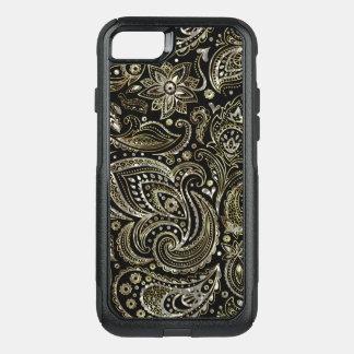 Capa iPhone 8/7 Commuter OtterBox Teste padrão elegante de Paisley do vintage da