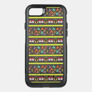 Capa iPhone 8/7 Commuter OtterBox Teste padrão psicótico da páscoa colorido