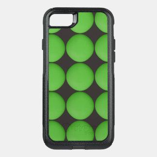 Capa iPhone 8/7 Commuter OtterBox Teste padrão verde à moda