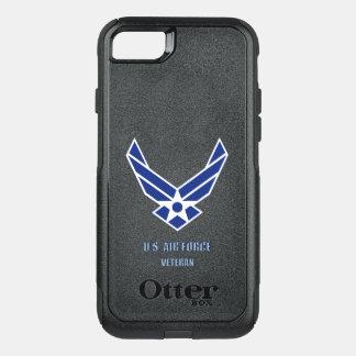 Capa iPhone 8/7 Commuter OtterBox U.S. Iphone $ Samsung Otterbox do veterano da