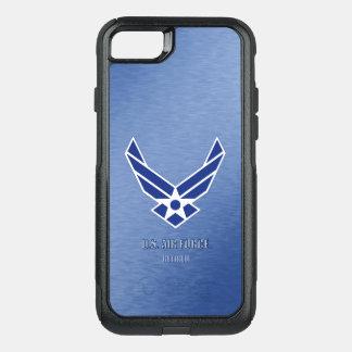 Capa iPhone 8/7 Commuter OtterBox U.S. Vária capa de telefone aposentada força aérea