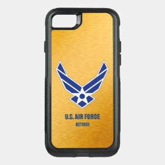 Capa iPhone 8/7 Commuter OtterBox U.S. Vário exemplo aposentado força aérea de