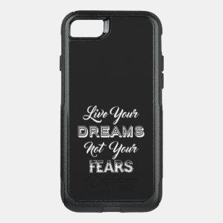 Capa iPhone 8/7 Commuter OtterBox Vivem suas capas de telefone dos sonhos