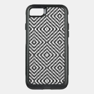 Capa iPhone 8/7 Commuter OtterBox Ziguezague preto e branco