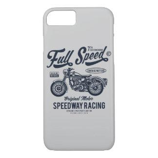 Capa iPhone 8/ 7 Competência do estrada da velocidade máxima
