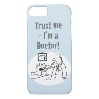Capa iPhone 8/ 7 Confie-me - eu sou um doutor! Desenhos animados