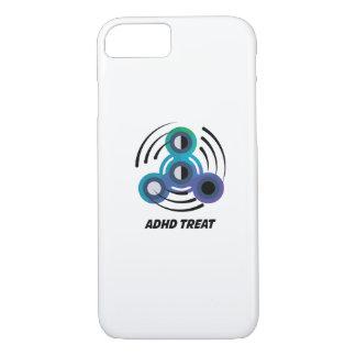 Capa iPhone 8/ 7 Consciência do girador ADHD da mão do brinquedo da