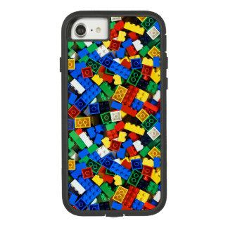 Capa iPhone 8/ 7 Construção dos tijolos da construção dos blocos de
