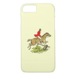 Capa iPhone 8/ 7 Cor do costume da equitação do caçador da ligação