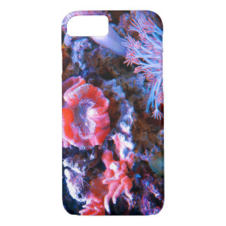 Capa iPhone 8/ 7 Coral tropical colorido