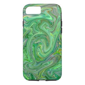 Capa iPhone 8/ 7 cores cremosas, verdes