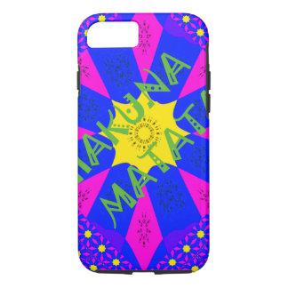 Capa iPhone 8/ 7 Cores surpreendentes bonitas do design de Hakuna