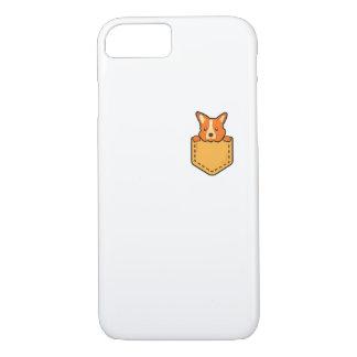 Capa iPhone 8/ 7 Corgi no cão de filhote de cachorro do animal de
